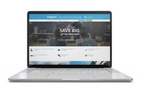 The Merchandise Man E-Commerce Website