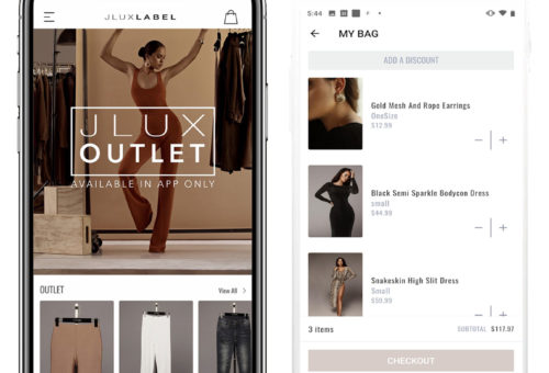 JLUXLABEL Mobile Application
