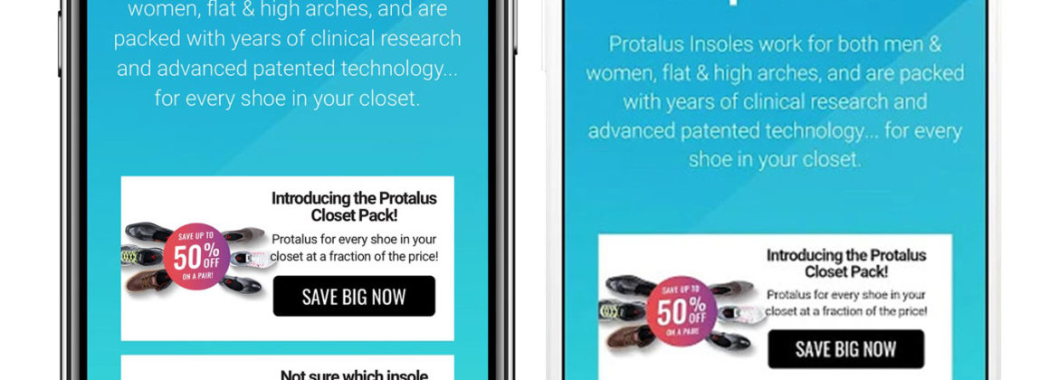 Protalus Insoles Mobile Application