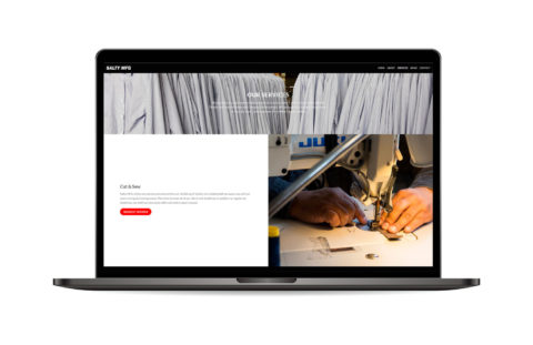 Fabric Manufacturing Website Development